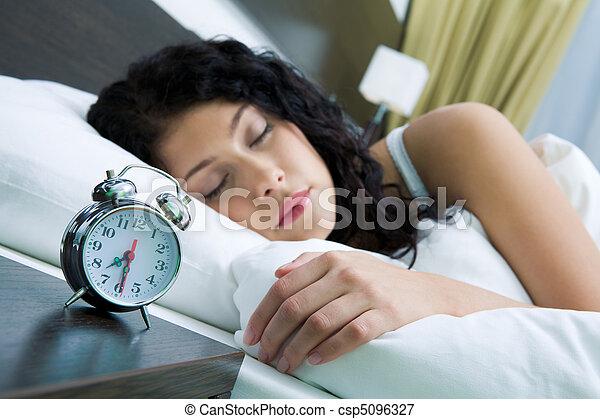 Lazy morning - csp5096327