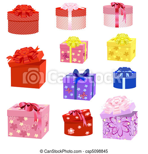 gift box packs - csp5098845