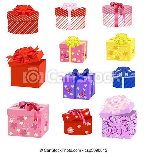 gift box packs - csp5098845