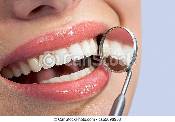 Nice teeth - csp5098953