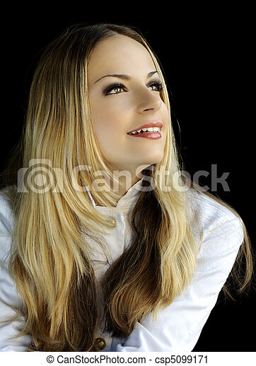 Blond beauty - csp5099171