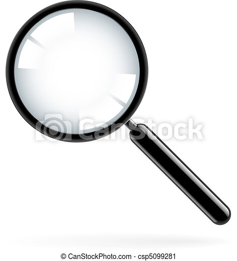 Magnifying glass - csp5099281