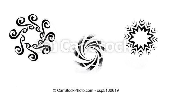 banque de photographies de tatouage croquis soleil tribal noir art tattoo art. Black Bedroom Furniture Sets. Home Design Ideas