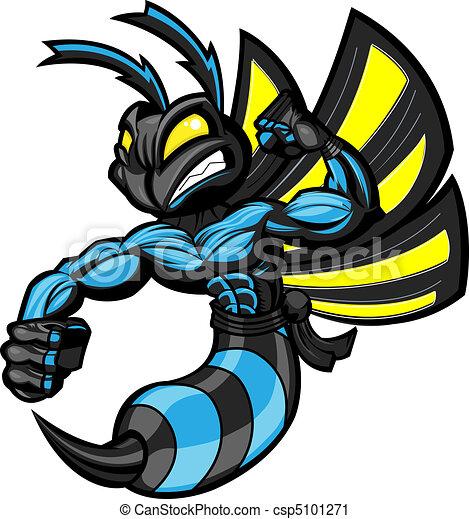 Fighting Ninja Hornet - csp5101271