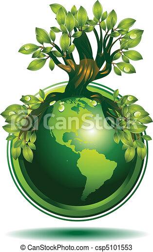 Green Earth - csp5101553