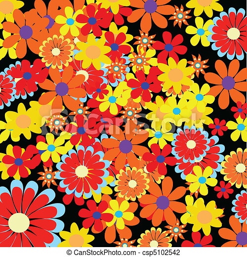 Floral Background - csp5102542