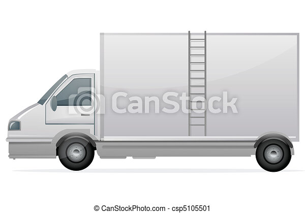 delivery truck - csp5105501
