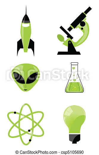 scientific icon - csp5105690