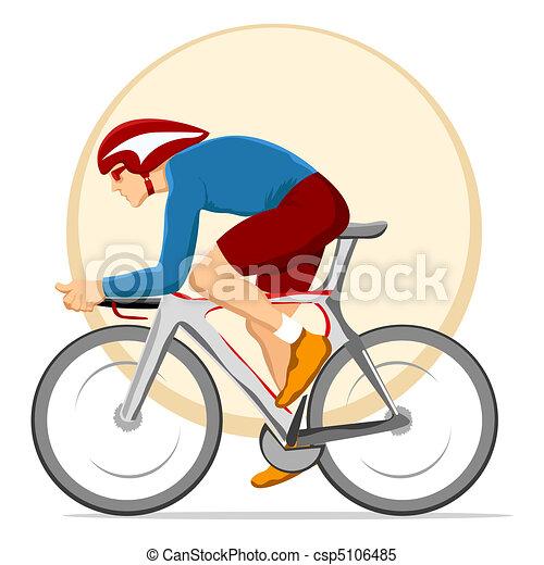 cyclist - csp5106485