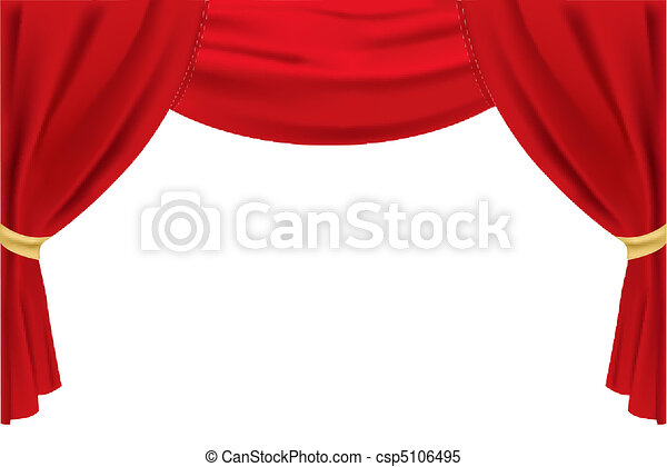 stage curtain - csp5106495