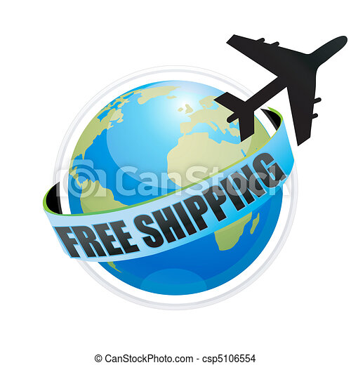 free shipping with aeroplane - csp5106554
