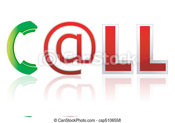 stylish call text - csp5106558