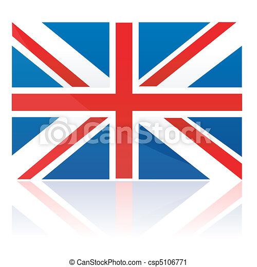clip art vecteur de londres drapeau illustration drapeau londres isol csp5106771. Black Bedroom Furniture Sets. Home Design Ideas