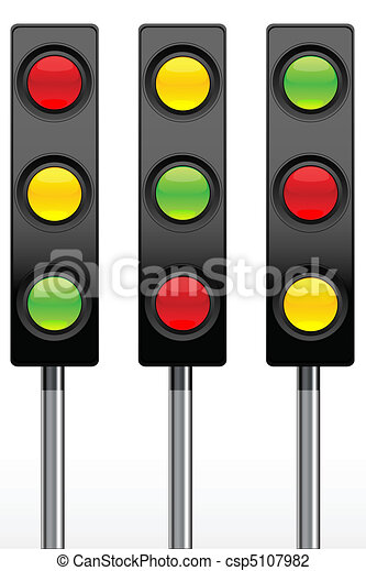 traffic signal icons - csp5107982