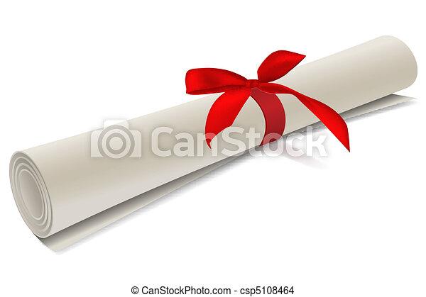 diplôme, degré - csp5108464