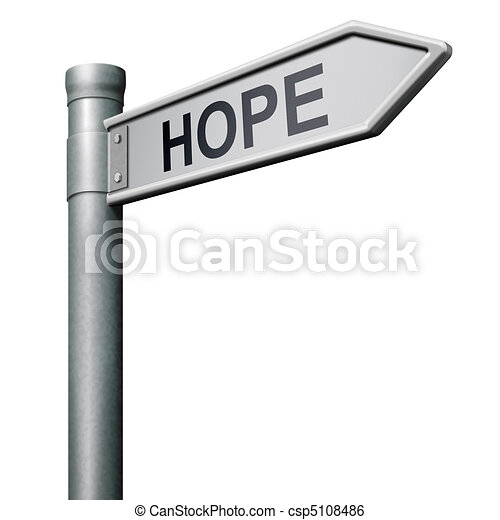 hope road sign - csp5108486
