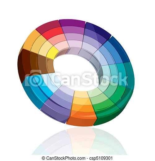 colorful target board