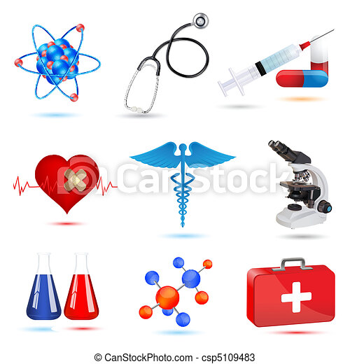 medical icons - csp5109483