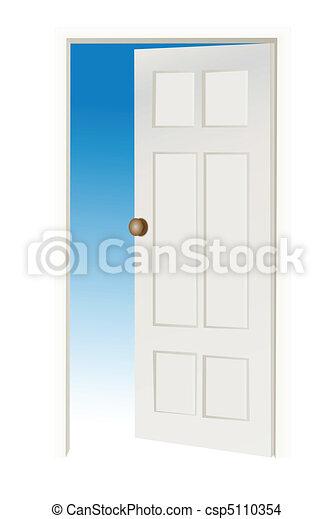 open door - csp5110354