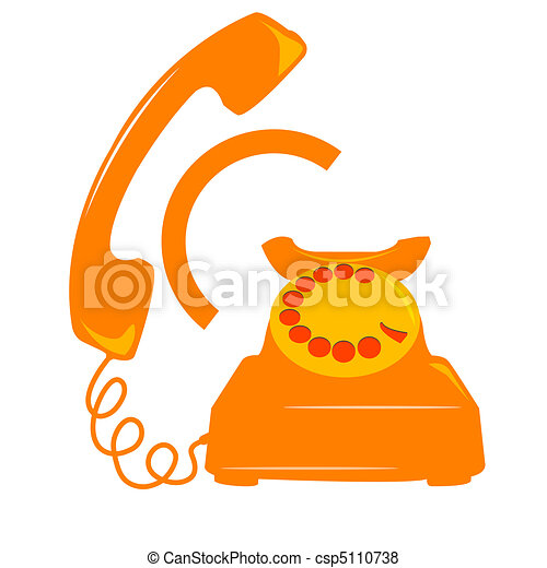 telephone icon - csp5110738