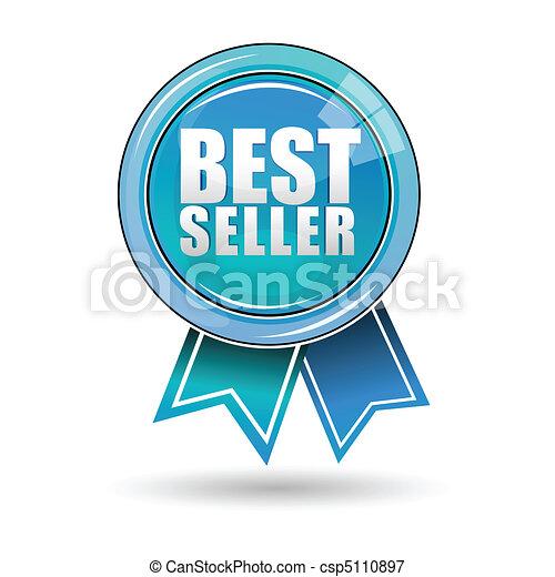 best seller label - csp5110897