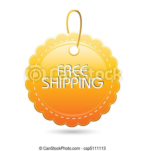 free shipping tag - csp5111113