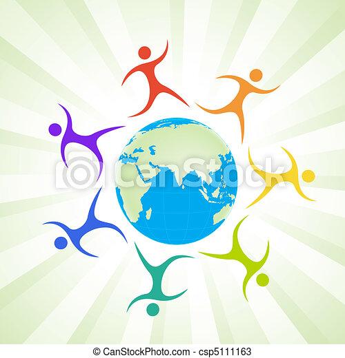 social networking - csp5111163