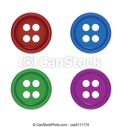 shirt buttons - csp5111174