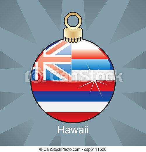 vektor von zwiebel fahne weihnachten hawaii v llig. Black Bedroom Furniture Sets. Home Design Ideas