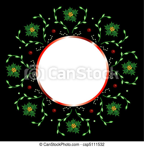 Christmas backgroun - csp5111532