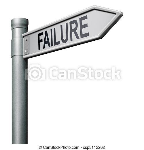 road to failure - csp5112262