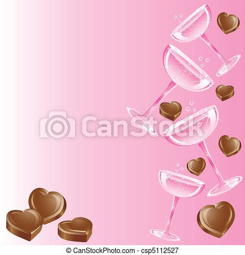 Champagne and Chocolates - csp5112527