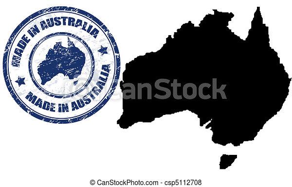 Australian Made Vector Made in Australia Vector