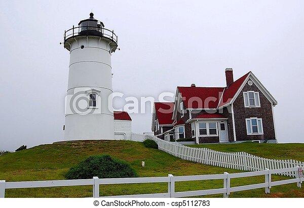 Nobska Lighthouse - csp5112783