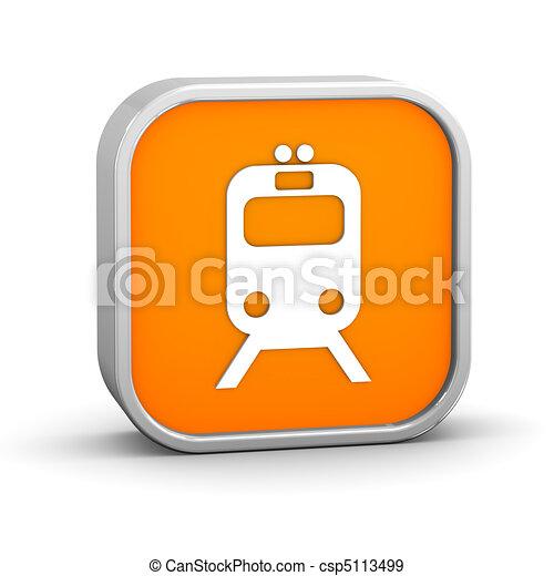 Rail Transportation Sign - csp5113499