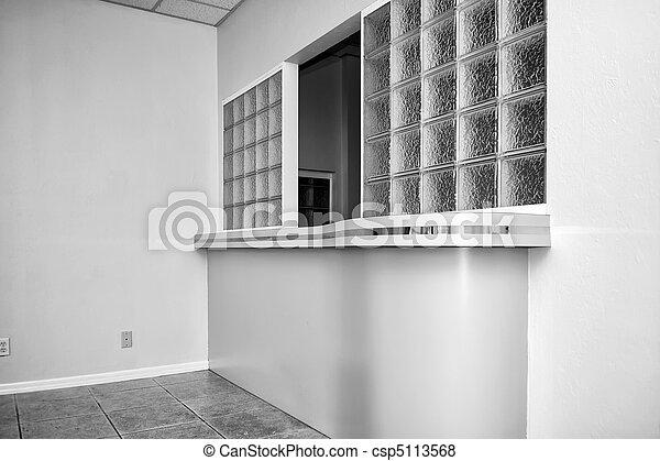 reception window