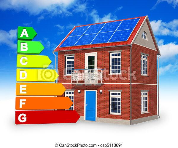 Alternative energy concept - csp5113691