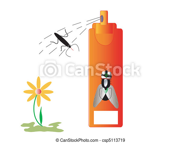 Insecticide insects and repellent - csp5113719