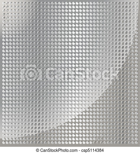 metal background cell - csp5114384