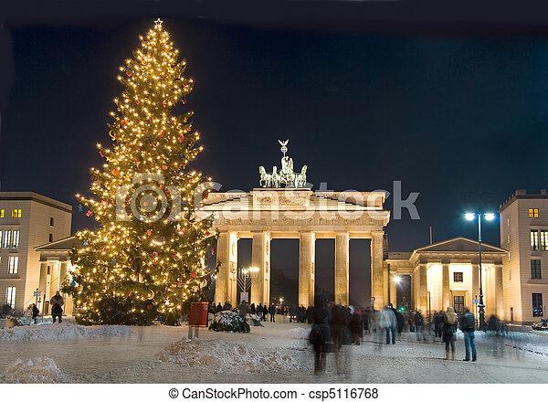 berlin winter christmas - csp5116768