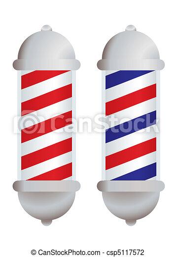 Barbers pole - csp5117572