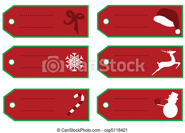 Christmas labels/tags - csp5118421