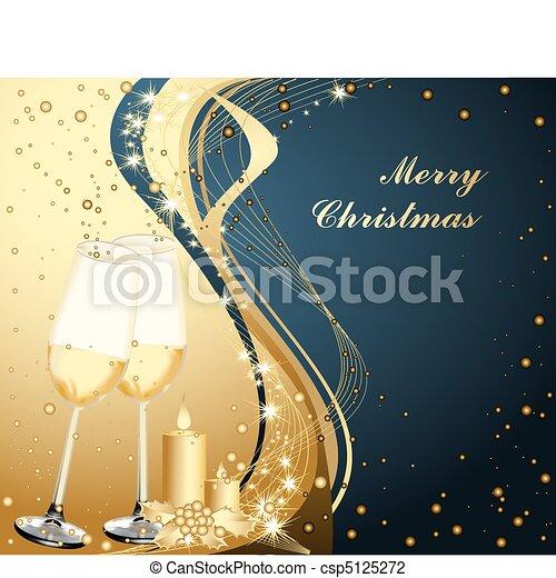 Merry Christmas background - csp5125272