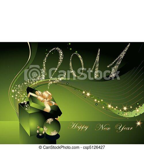 Happy New Year background - csp5126427