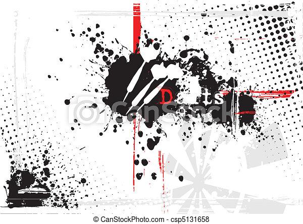 dirty darts background - csp5131658