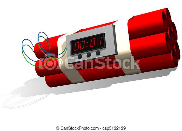 Dynamite time bomb - csp5132139