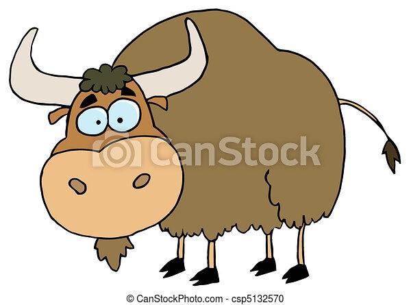 comment dessiner un yak