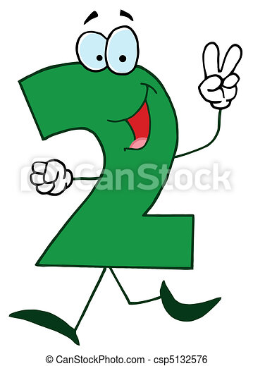 Cartoon Numbers-2 - csp5132576