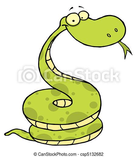 Vecteur vert heureux vip re banque d 39 illustrations illustrations libres de droits banque - Dessin de vipere ...
