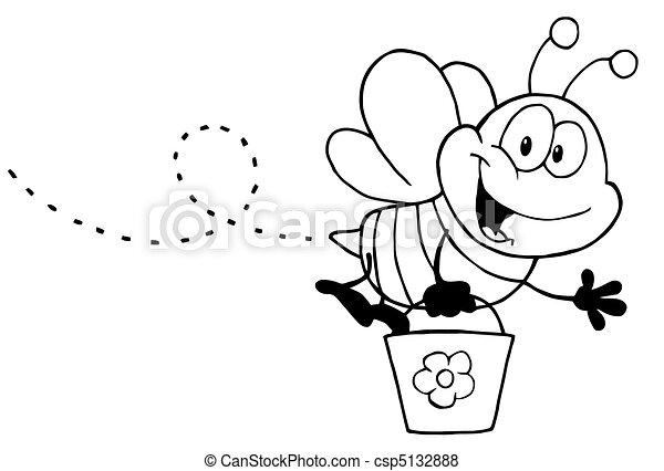 手绘蜂蜜pop海报图片